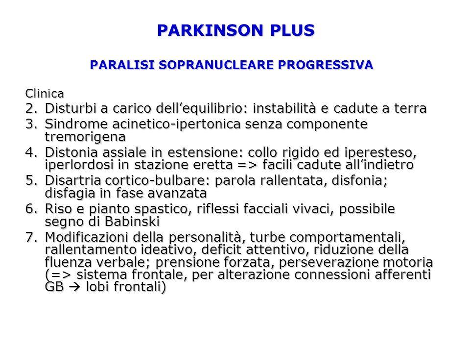 PSP: MRI