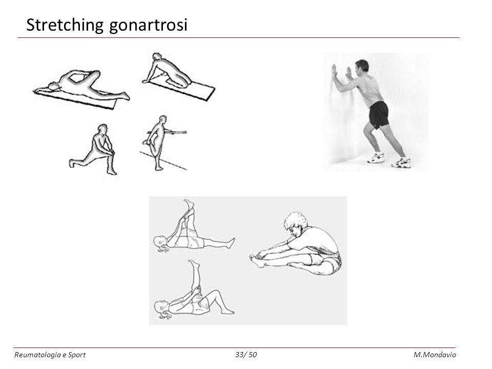 Reumatologia e SportM.Mondavio33/ 50 Stretching gonartrosi