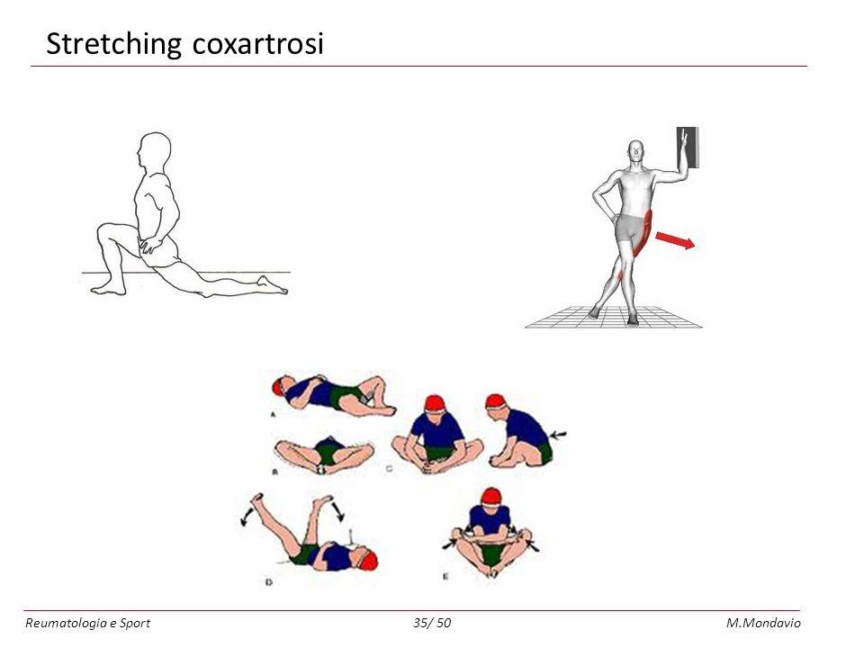 Reumatologia e SportM.Mondavio35/ 50 Stretching coxartrosi