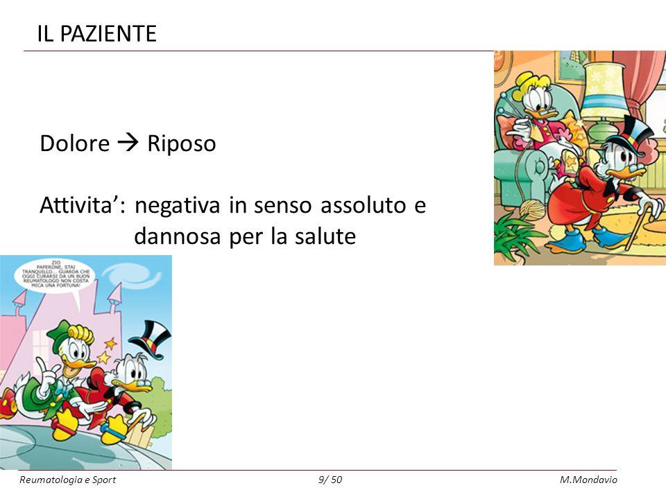 Reumatologia e SportM.Mondavio50/ 50
