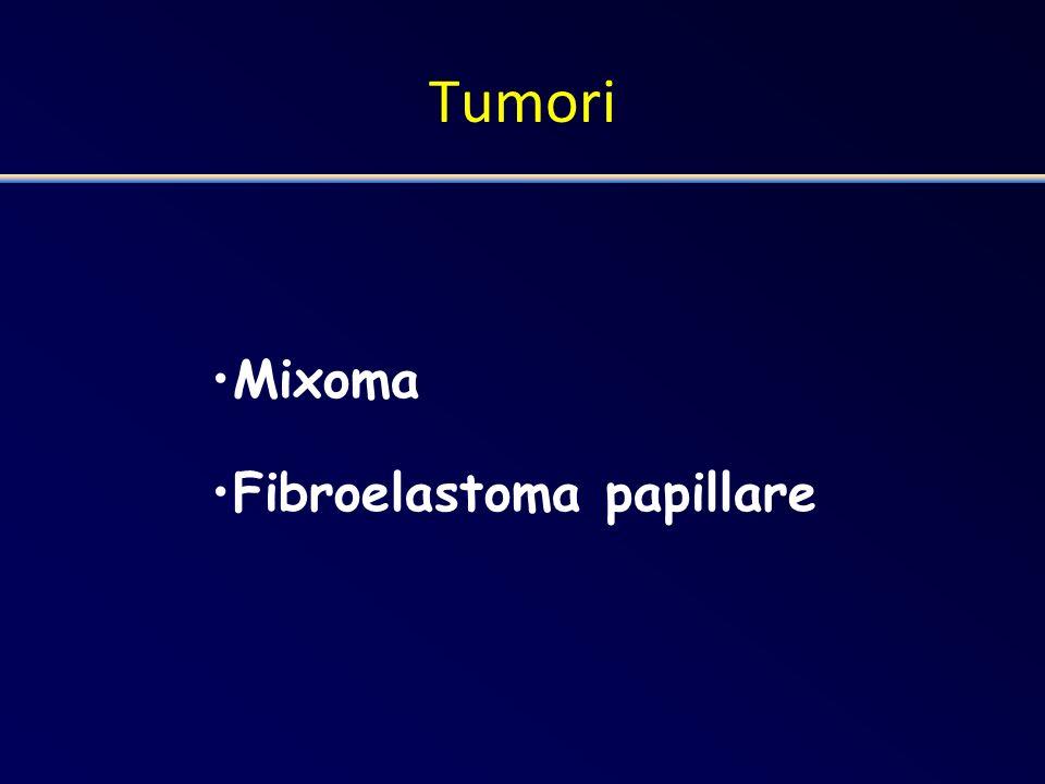 Tumori Mixoma Fibroelastoma papillare