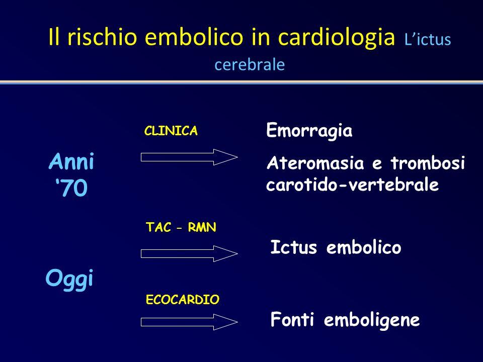 Protesi valvolare aortica TAO a lungo termine Target INR: 2.5 Range: 2.0 – 3.0 St Jude a doppio disco