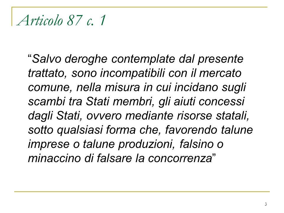 4 Articolo 87 c.