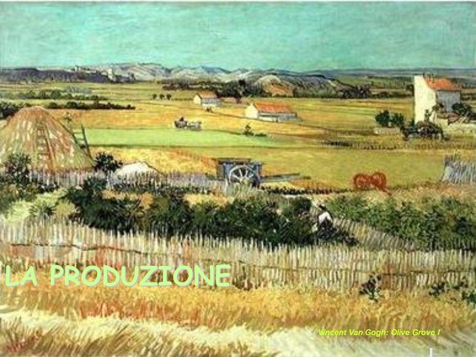 LA PRODUZIONE L Vincent Van Gogh: Olive Grove I