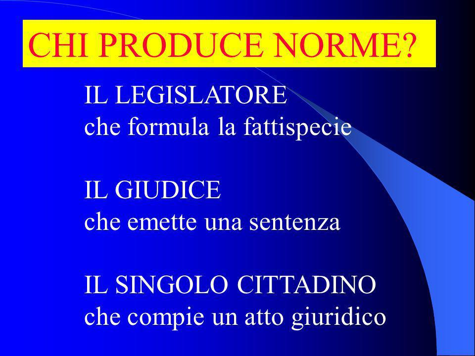 CHI PRODUCE NORME.