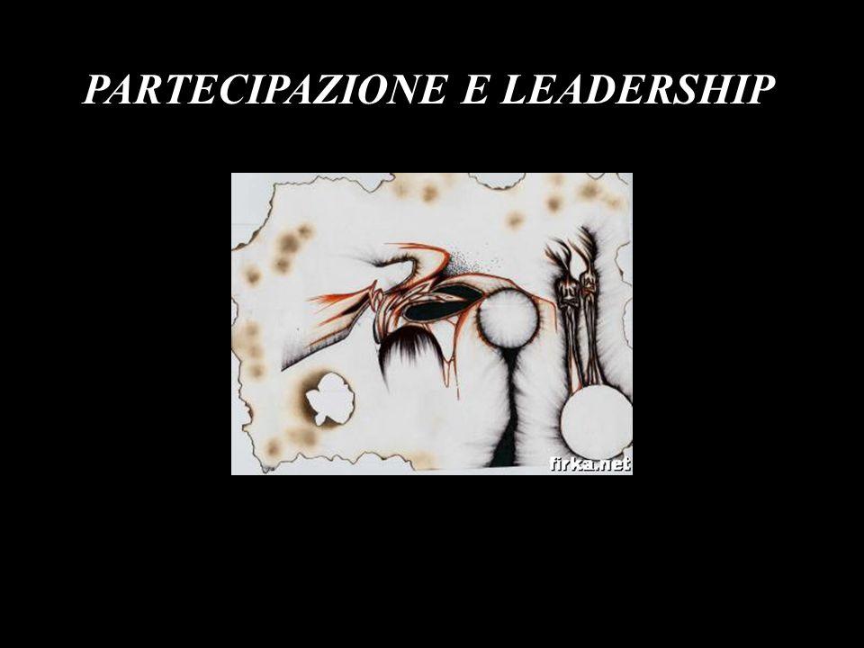 PARTECIPAZIONE E LEADERSHIP