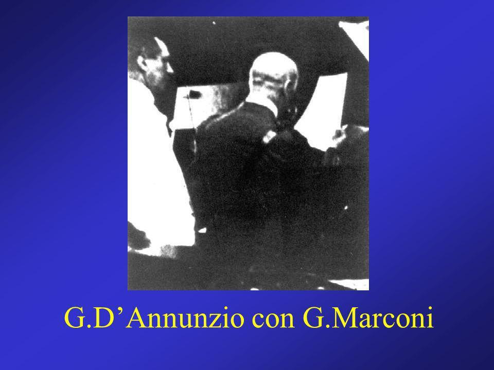 G.DAnnunzio con G.Marconi