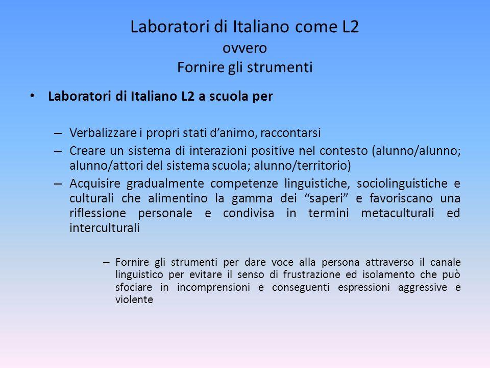 Laboratori interculturali nelle classi Tra le Abilità Interculturali (v.