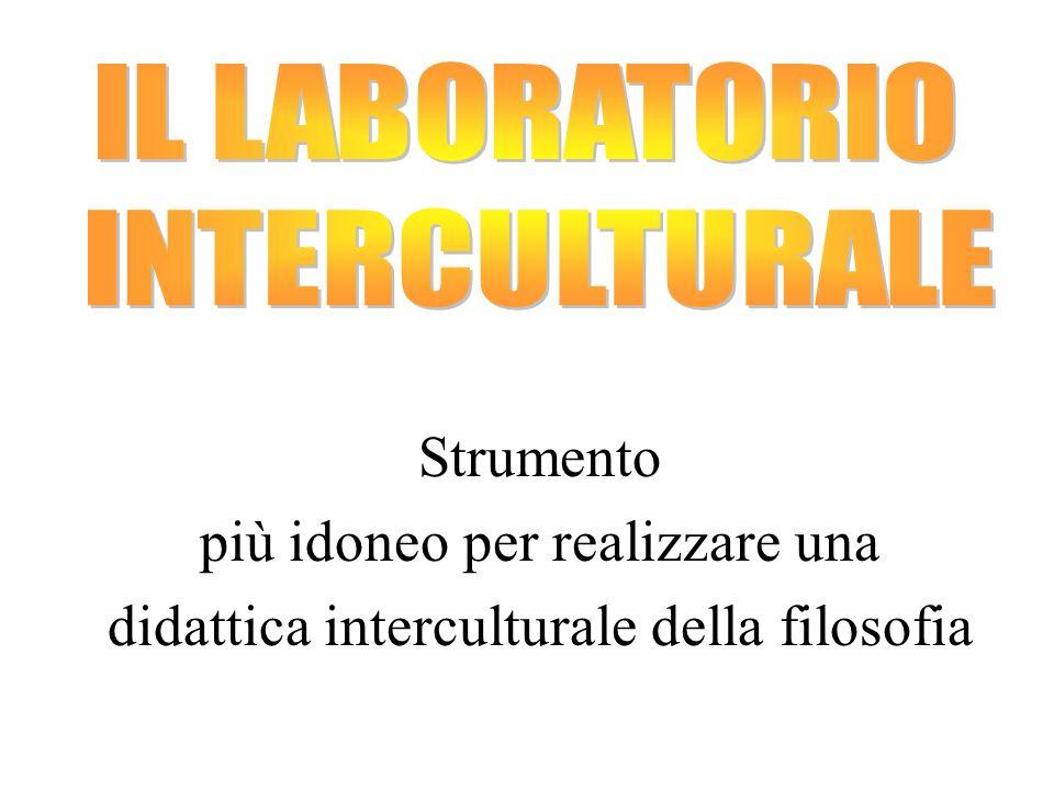 Strumento più idoneo per realizzare una didattica interculturale della filosofia
