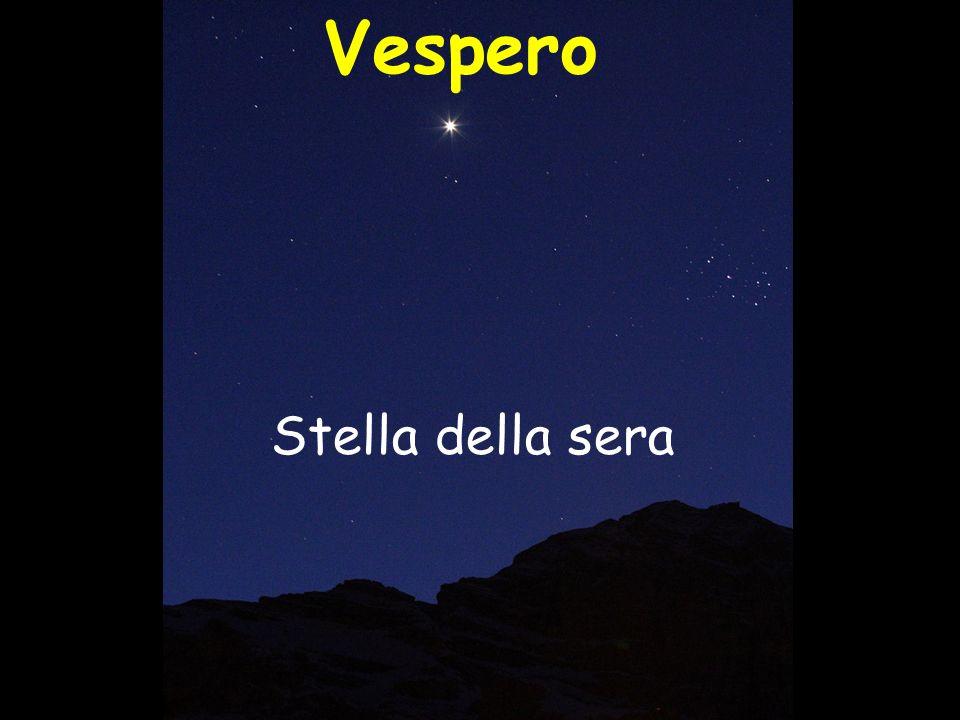 Vespero Stella della sera