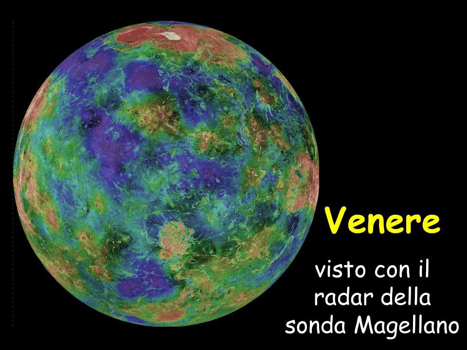 Venere visto con il radar della sonda Magellano