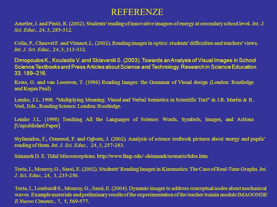 REFERENZE Lemke, J.L. 1998.