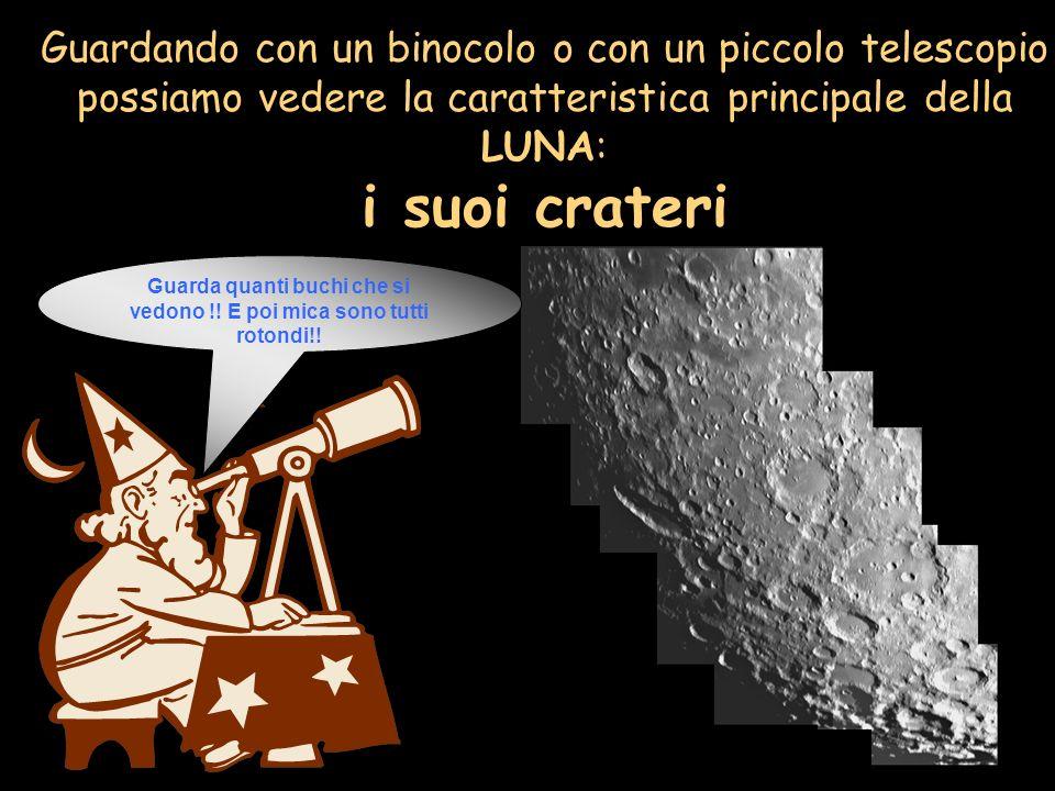 Questa antica sfera rocciosa è la stessa che illumina ancora le nostre notti: è la LUNA, il satellite della Terra che, come il Sole, sorge ad Est e tr