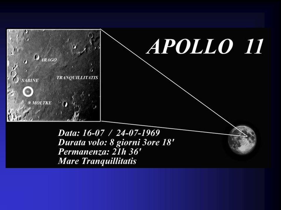 Questa è la LUNA, il nostro satellite, sul quale il 20 Luglio 1969 gli Astronauti dellApollo 11 compirono i primi passi nella grande e desolata pianur