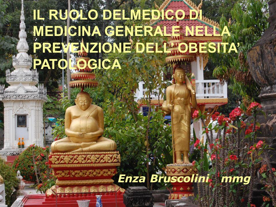 MMG e obesitàMMG e obesità IL RUOLO DELMEDICO DI MEDICINA GENERALE NELLA PREVENZIONE DELL OBESITA PATOLOGICA Enza Bruscolini mmg