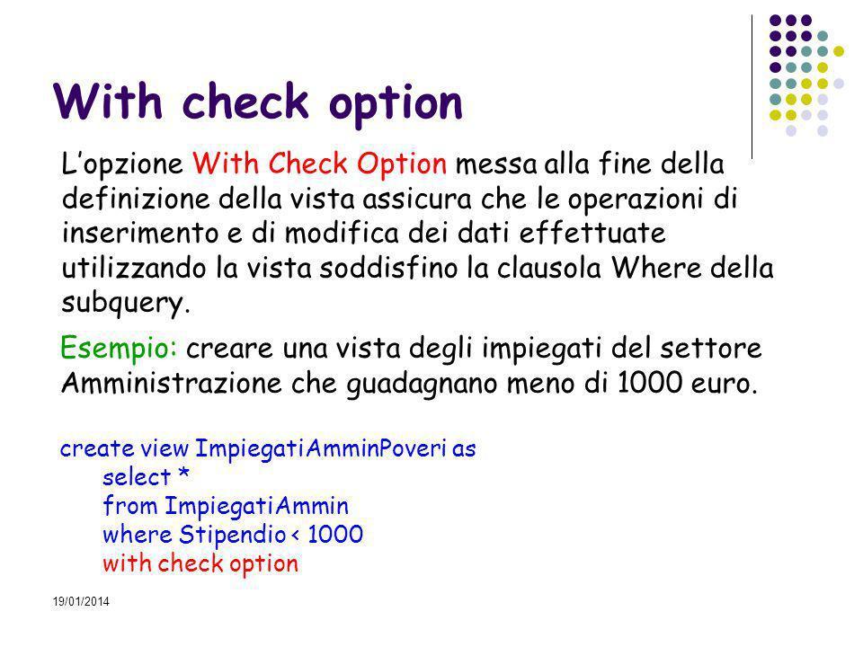 19/01/2014 Local, Cascaded Le opzioni Local e Cascaded sono alternative.