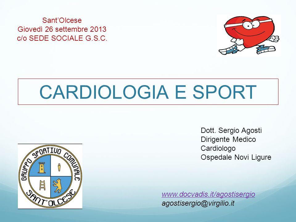 CARDIOLOGIA E SPORT Dott.