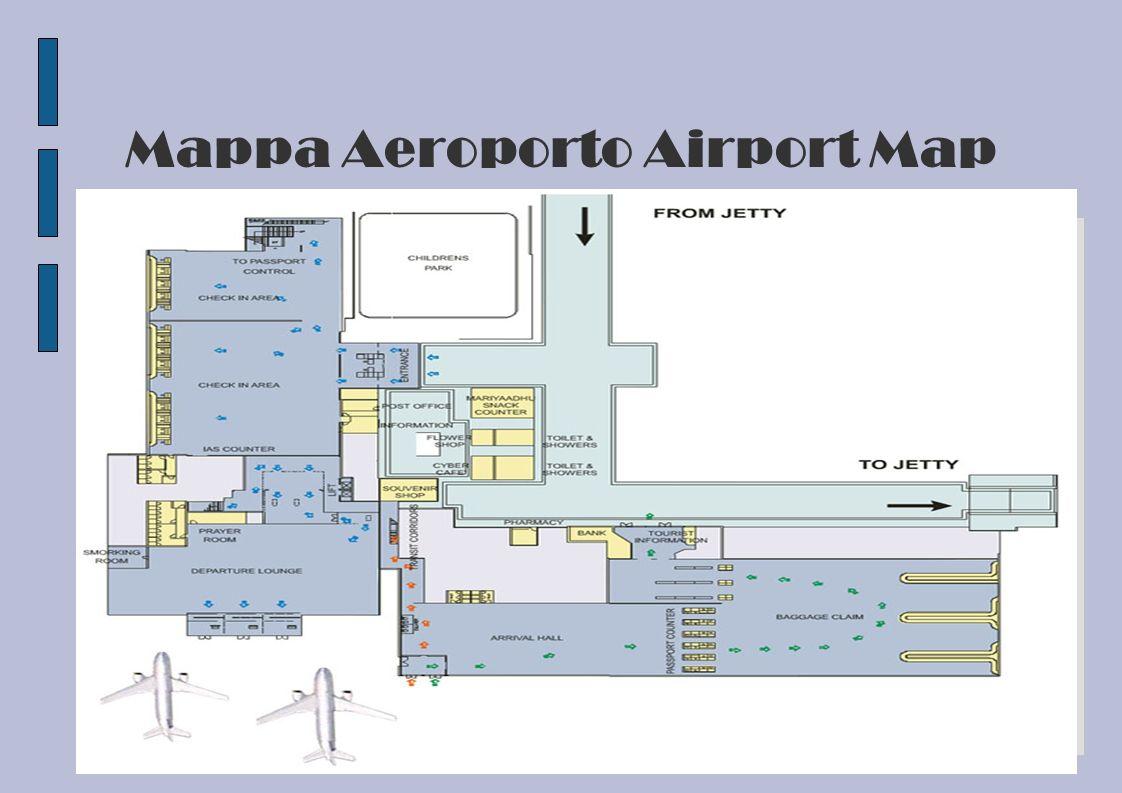 Mappa Aeroporto Airport Map