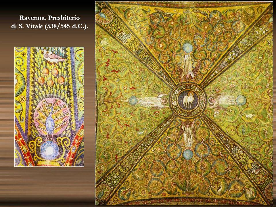 Ravenna. Presbiterio di S. Vitale (538/545 d.C.).