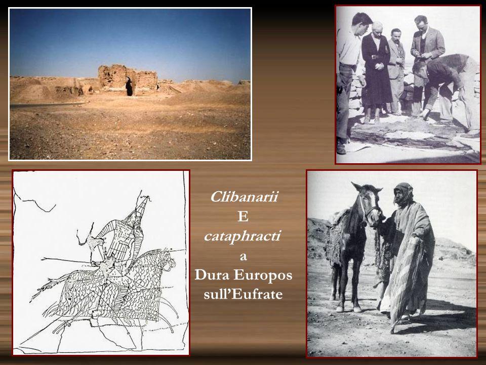 Clibanarii E cataphracti a Dura Europos sullEufrate