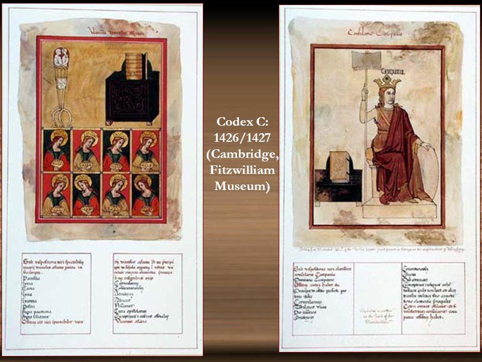 Codex C (1426/7) Codex O (1436)