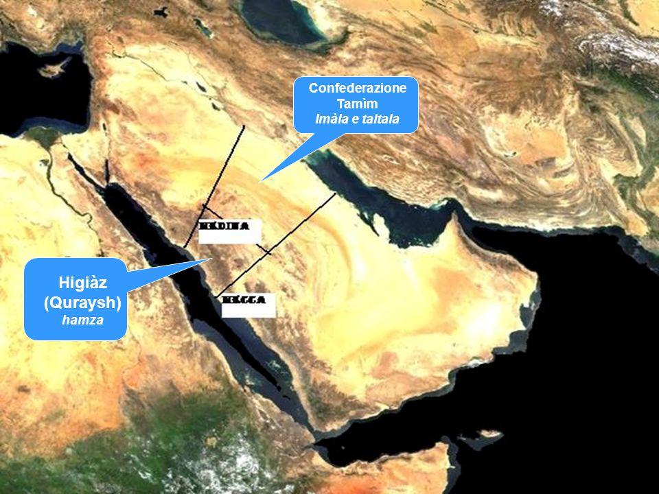 Higiàz (Quraysh) hamza Confederazione Tamìm Imàla e taltala