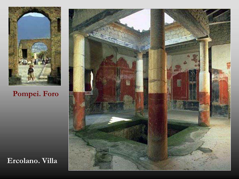 Pompei. Foro Ercolano. Villa