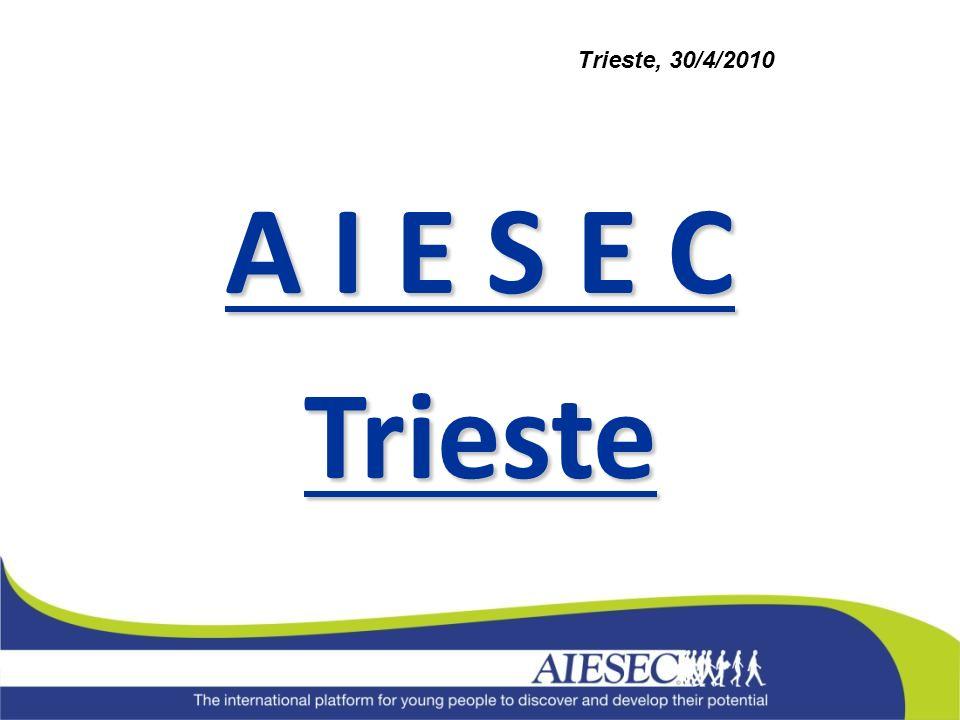 A I E S E C Trieste Trieste, 30/4/2010