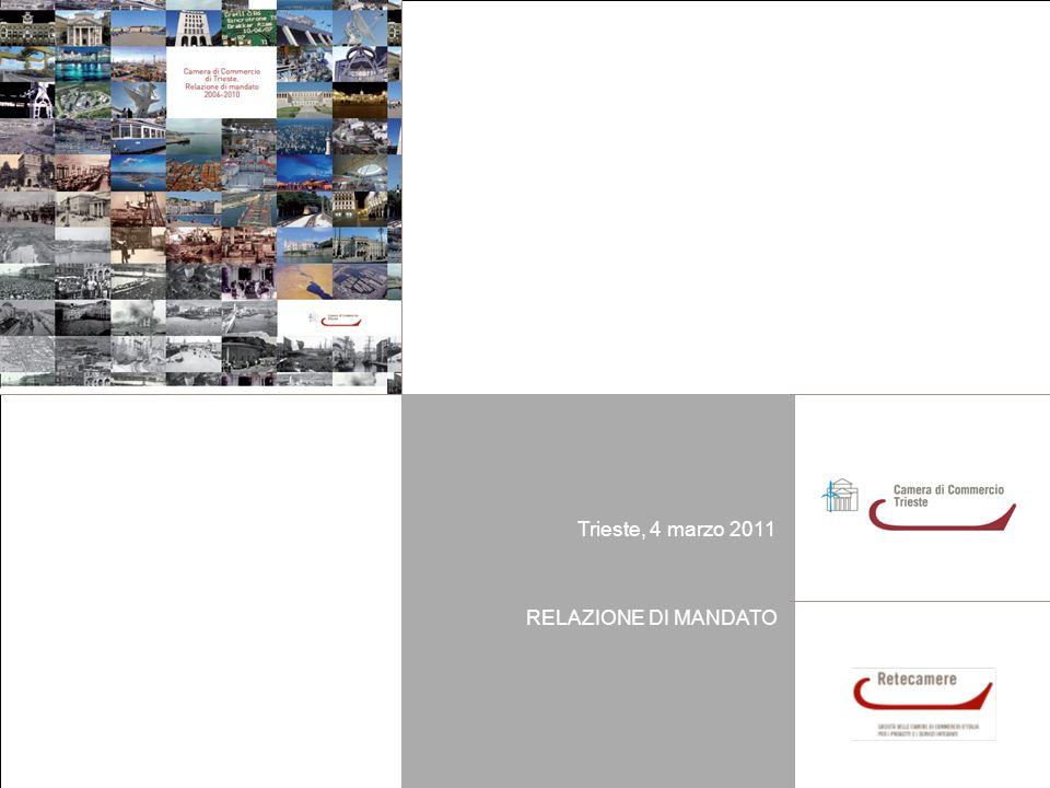 1Relazione di mandato Trieste, 4 marzo 2011 Trieste, 4 marzo 2011 RELAZIONE DI MANDATO