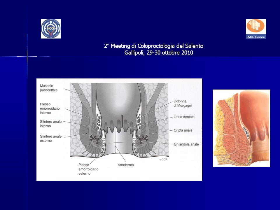 2° Meeting di Coloproctologia del Salento Gallipoli, 29-30 ottobre 2010