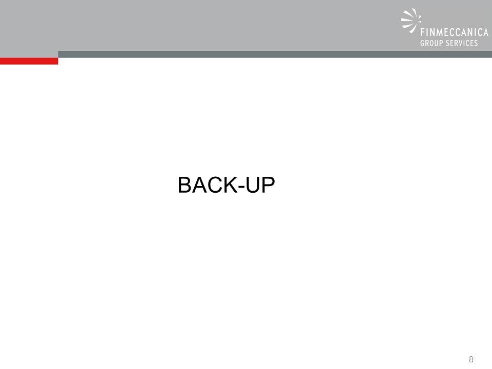 8 BACK-UP