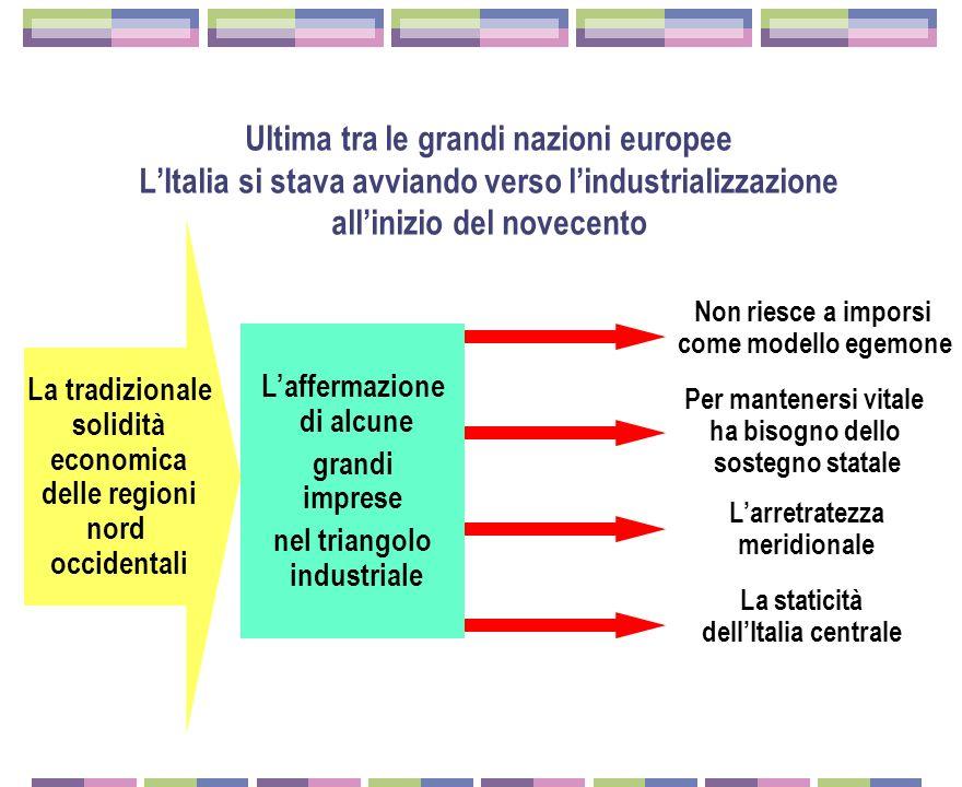 Popolazione delle principali città italiane (valori in migliaia)
