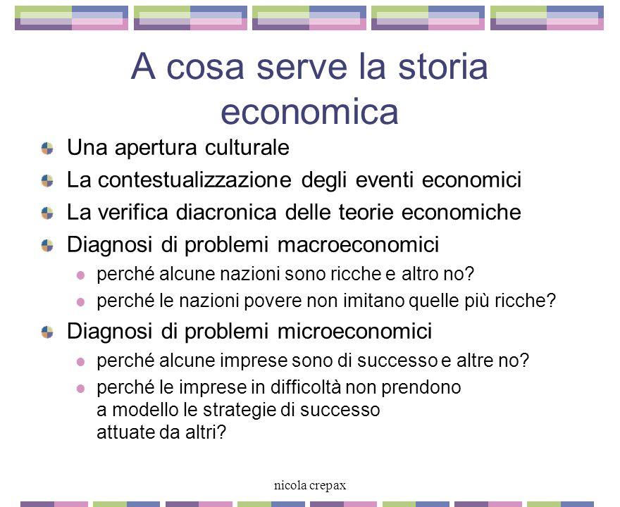 2 nicola crepax I e II Giovedì 17 ottobre Venerdì 18 ottobre Introduzione I paradigmi dello sviluppo economico italiano La Belle Epoque