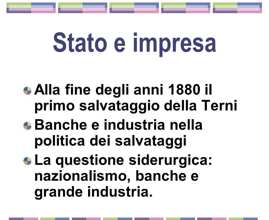 Lindustria siderurgica Industria elettrica Industria siderurgica Fattori imprescindibili nella seconda rivoluzione industriale Treni Navi Armi pesanti