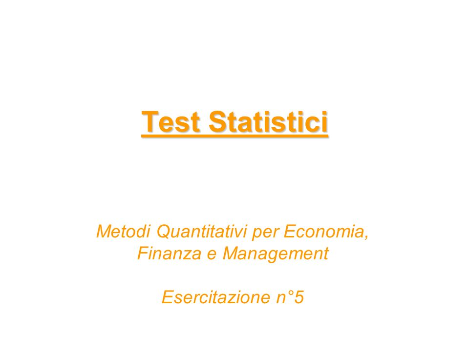 PROC ANOVA – Sintassi generale Sia Y una variabile quantitativa e X una variabile qualitativa PROC ANOVA DATA=dataset; CLASS X; MODEL Y=X; MEANS X; RUN;