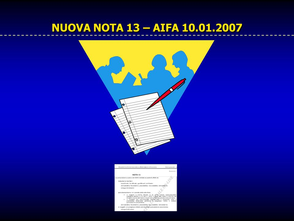 NUOVA NOTA 13 – AIFA 10.01.2007
