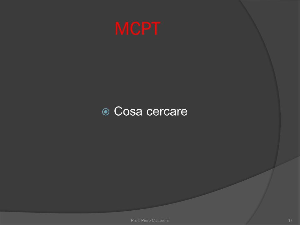 MCPT Cosa cercare Prof. Piero Maceroni17