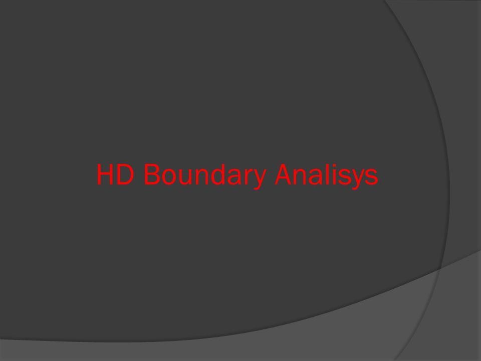 HD Boundary Analisys