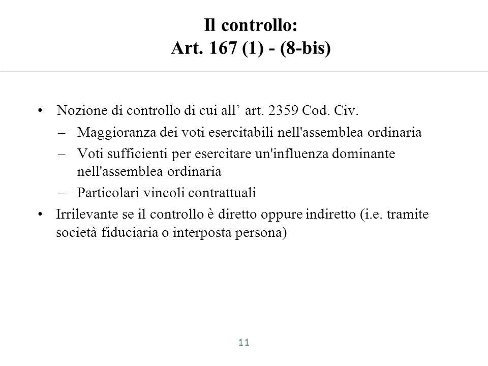 Soggetto partecipato estero jurisdictional vs transactional approach (cenni e rinvio) CFC black list (Art. 167(1) e 168 TUIR): –Rilevante territorio d
