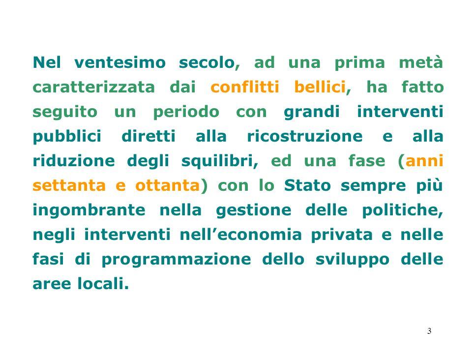 14 In Italia, anche normativamente attraverso ladeguamento dellordinamento costituzionale, si ritrovano dei segni inequivocabili di tali cambiamenti.