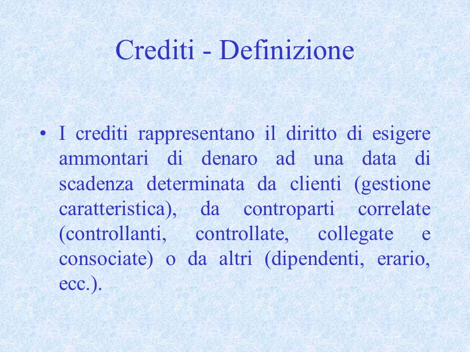 Contenuto nota integrativa - (art.