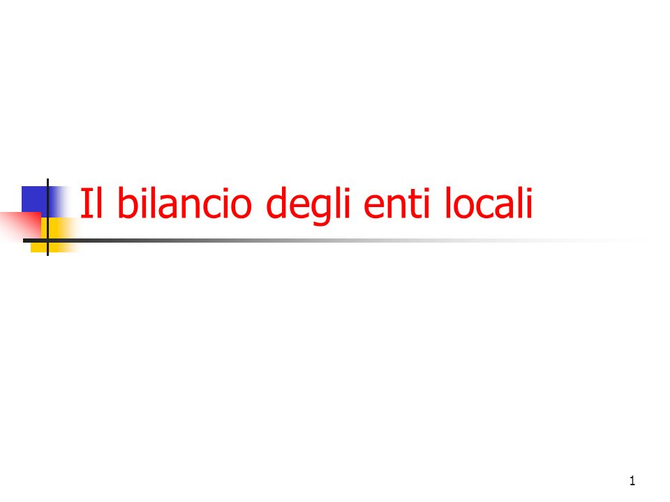 32 Equilibri di Bilancio Entrate correnti Entrate in c/cap.