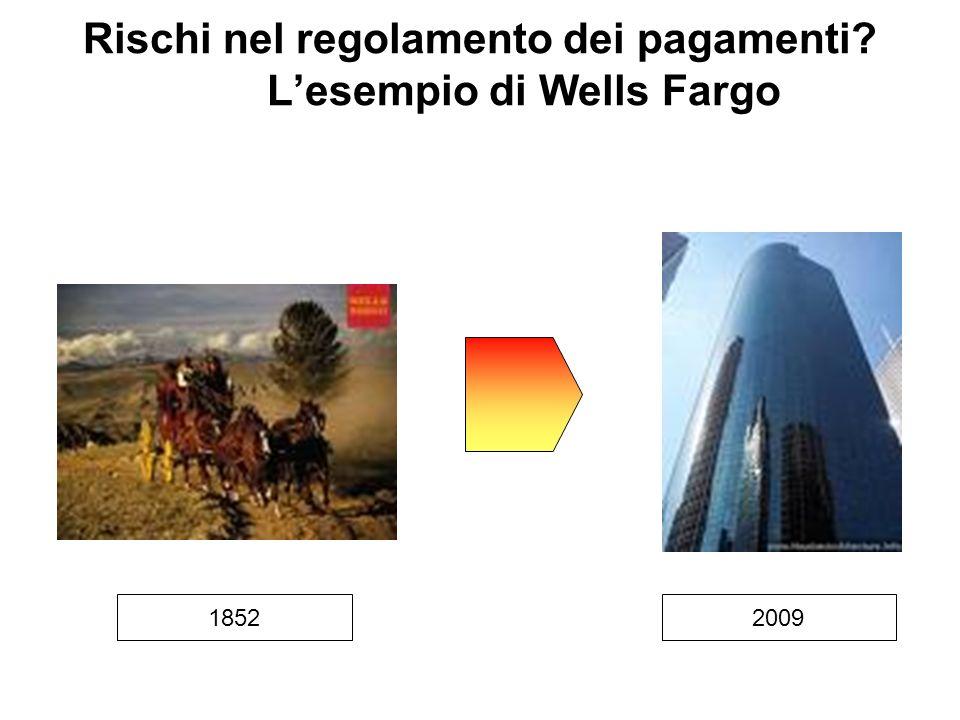 Rischi nel regolamento dei pagamenti? Lesempio di Wells Fargo 20091852