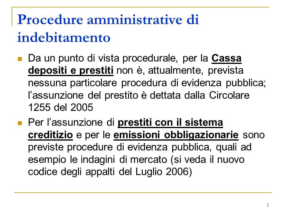 26 Patrimonio Pubblico Cessione Società Veicolo S.r.l.