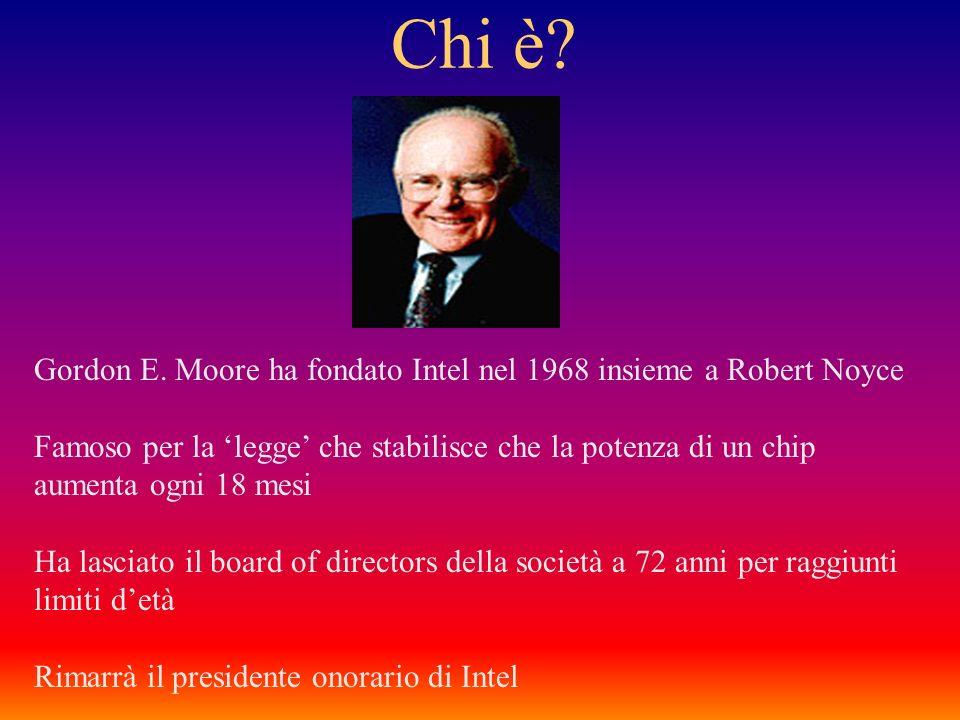 La Legge di Moore 1965 - Gennaio 2003