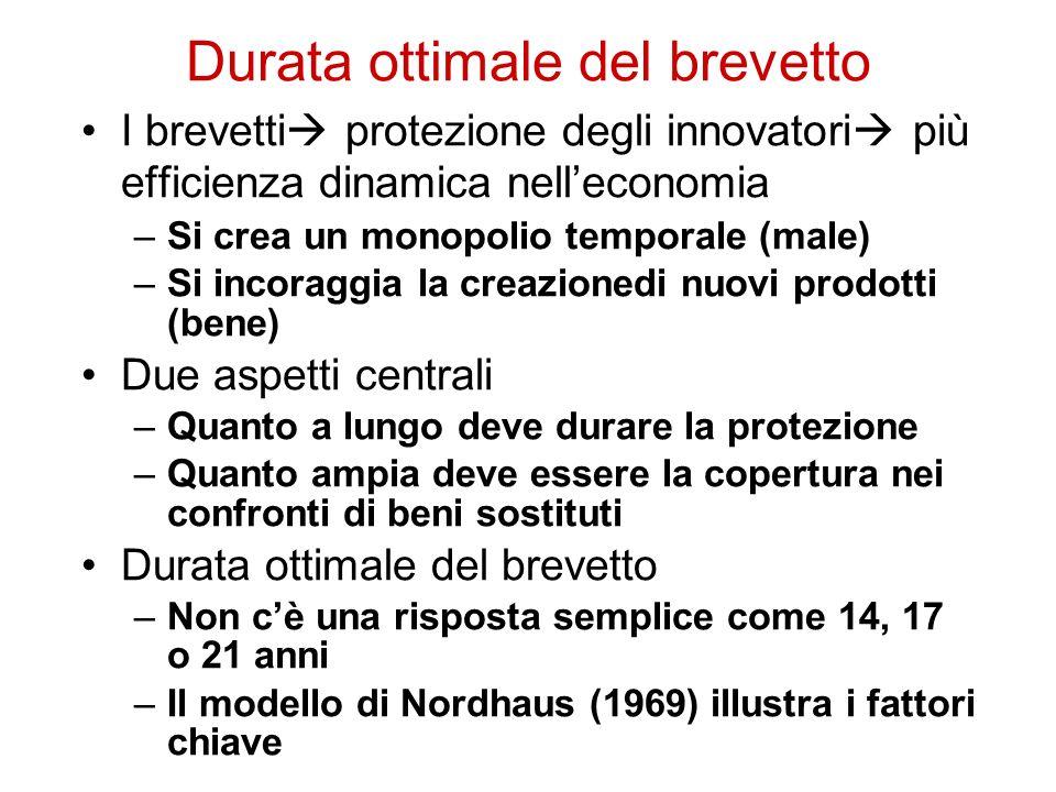 Requisiti di brevettabilità Linvenzione deve essere –Lecita –Idonea ad un applicazione industriale –Nuova –Inventiva (non ovvia) La scoperta non è brevettabile