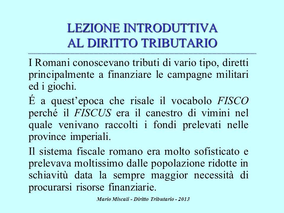 Mario Miscali - Diritto Tributario - 2013 REFERENDUM E LEGGE DI BILANCIO (artt.