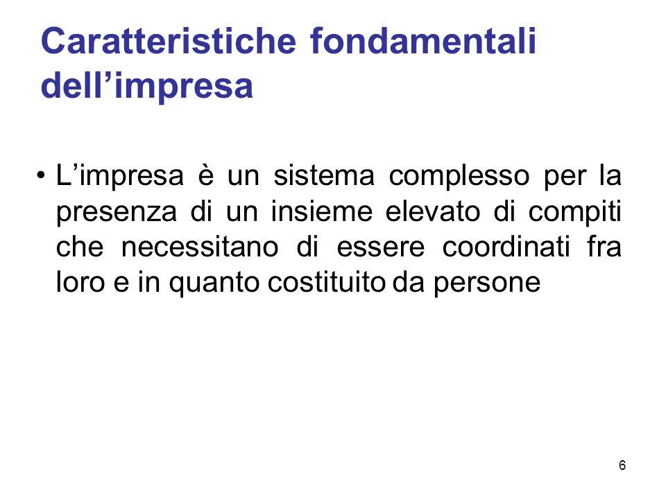 Società di persone: elementi fondamentali Responsabilità sussidiaria illimitata e solidale dei soci per le obbligazioni sociali.