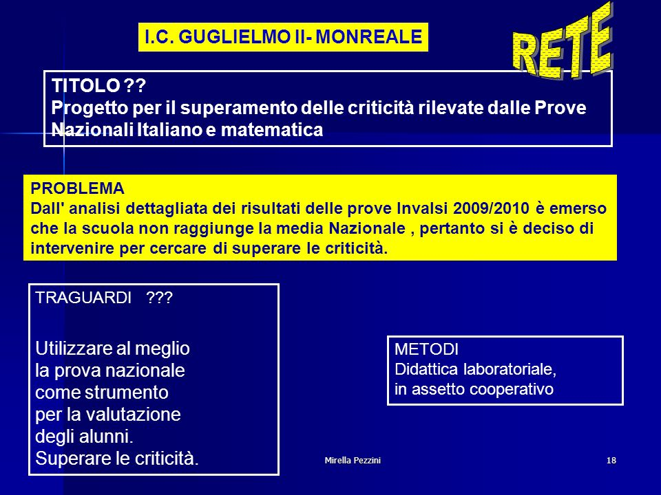 Mirella Pezzini18 I.C.GUGLIELMO II- MONREALE TITOLO ?.