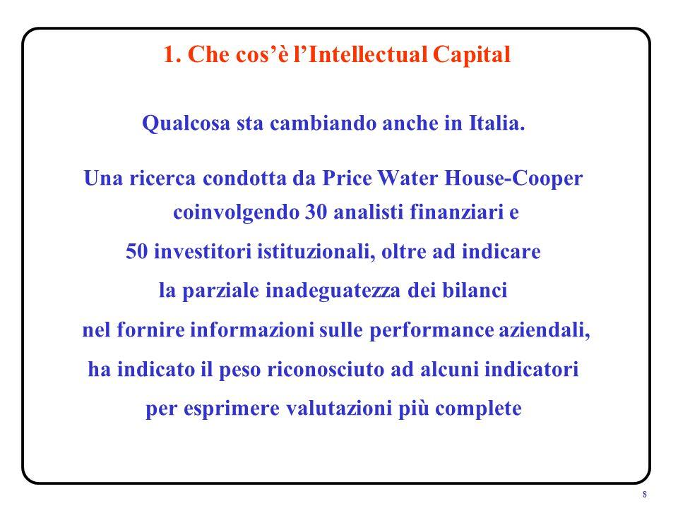 8 Qualcosa sta cambiando anche in Italia.